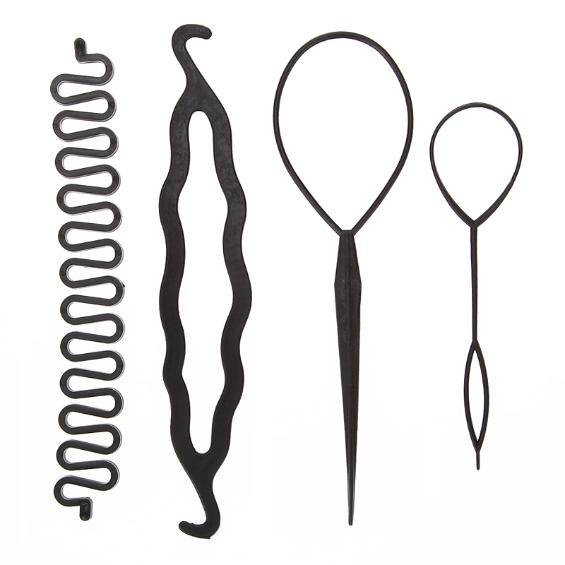 4pcs Hair Styling Accessories