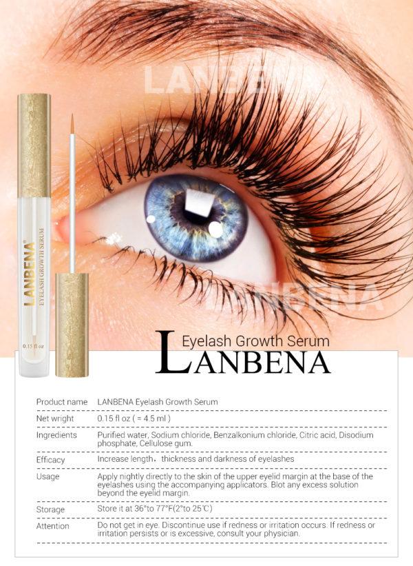 LANBENA Eyelash Growth Eye Serum - Highway Importers ...